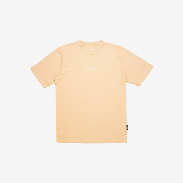 """Essential"" Thoughts Remain T-shirt - Beige"