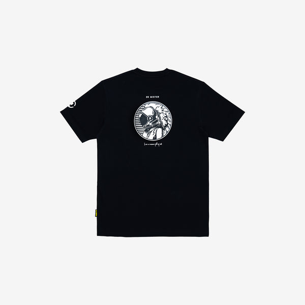 """Full of Art"" Astrongel T-shirt - Black"