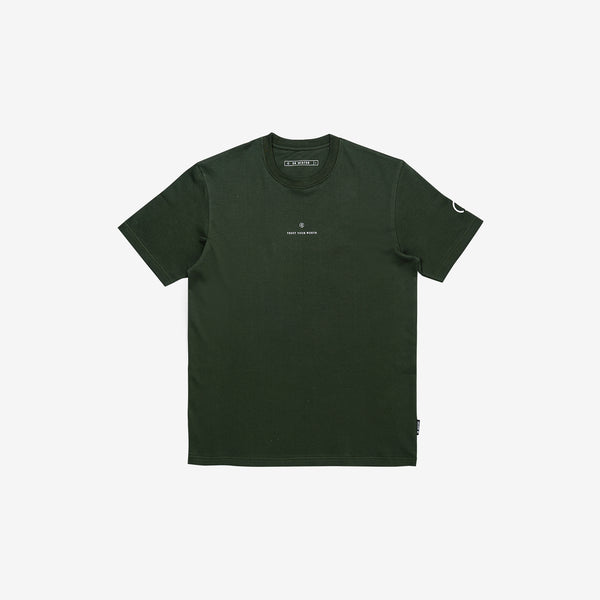 """Full of Art"" Astrongel T-shirt - Olive Green"