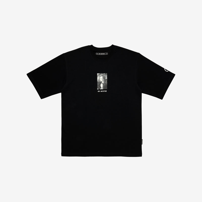 """Full of Art"" Oversized T-shirt - Black"