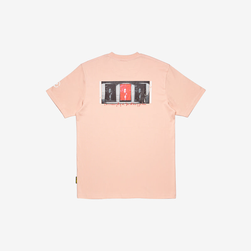 """Full of Art"" Metro T-shirt - Beige Pink"