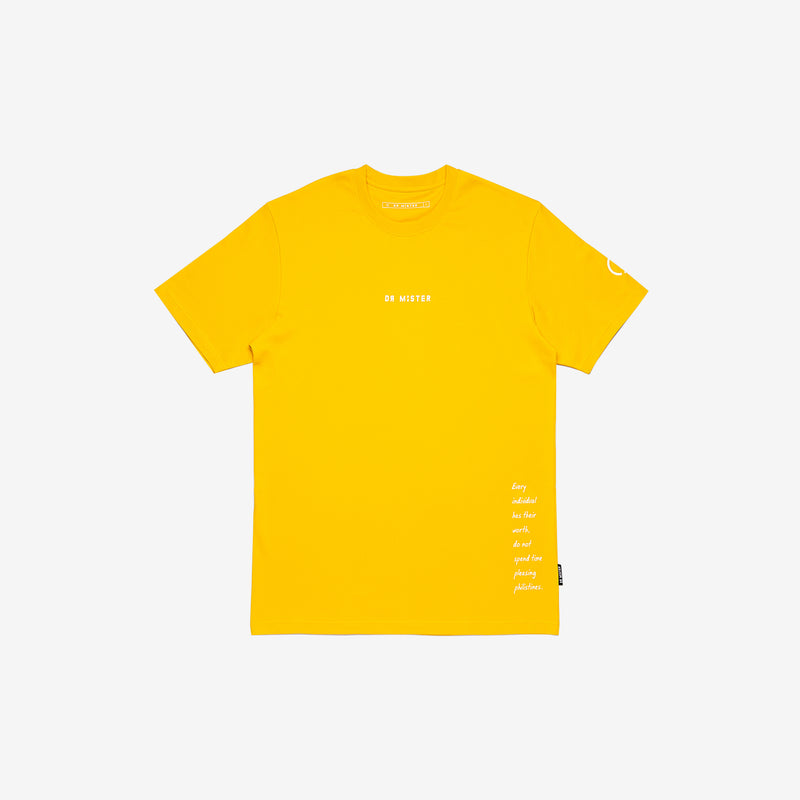 """Full of Art"" Metro T-shirt - Amber Yellow"