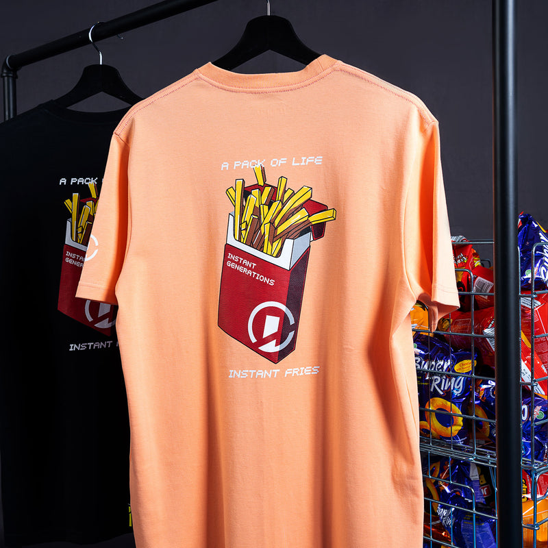 """Instant Generation"" Fries T-shirt - Black"