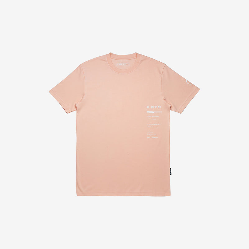 """Good Time At Ease"" Blood Angel T-shirt Special Edition - Beige Pink"