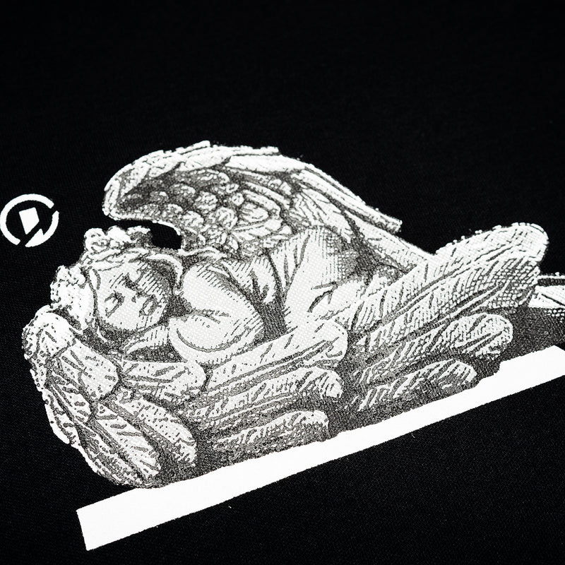 """Good Time At Ease"" Dream Angel T-shirt - Black"