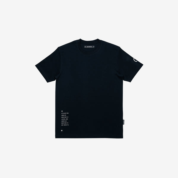 """Origin"" Rooster Bowl T-shirt - Black"