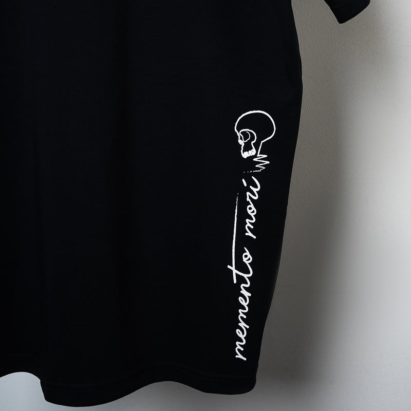 """Memento Mori"" Withered T-shirt - Black"