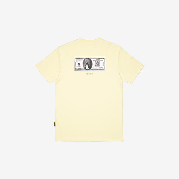 """Origin"" Frugality T-shirt - Cream Yellow"