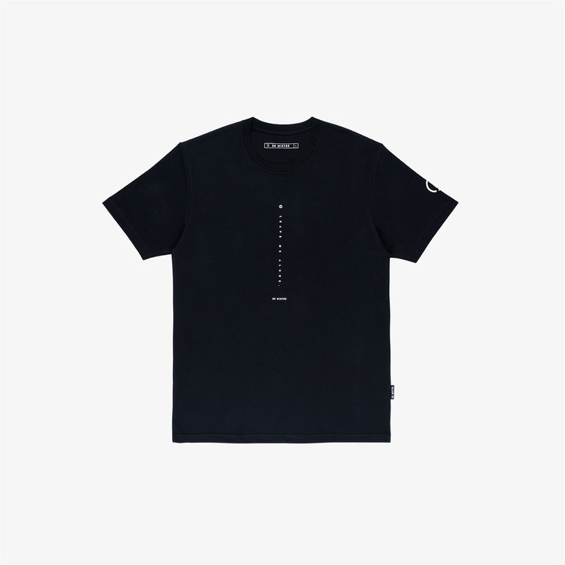 """Nonsocial Being"" Leave Alone T-shirt- Black"