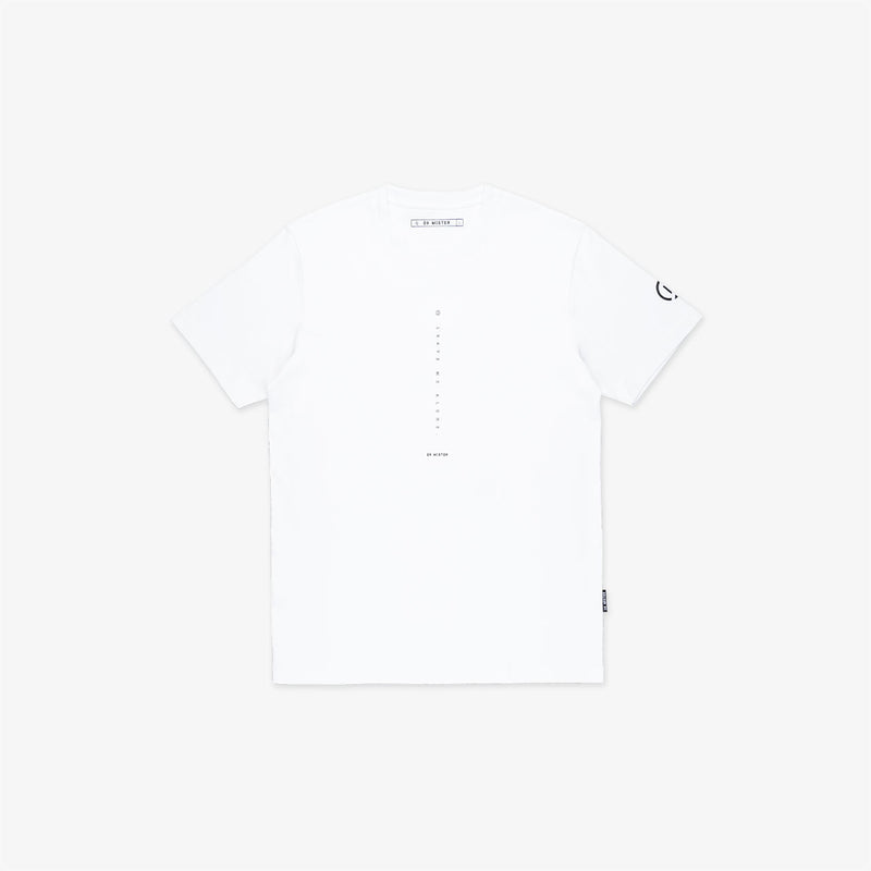 """Nonsocial Being"" Leave Alone T-shirt- White"