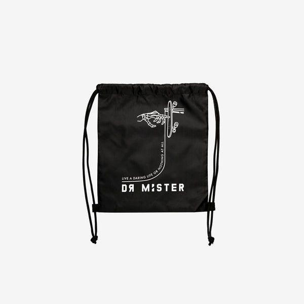 """Risk It"" Drawstring Bag  13"" x  15"""