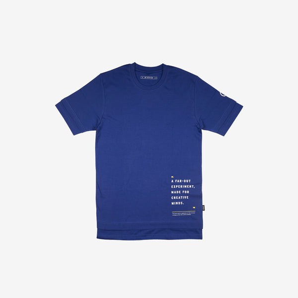 """Self Reflection"" Layered T-shirt - Duke Blue"