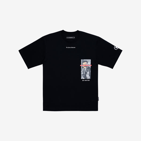 """The Famed Unknown"" Music Oversized T-shirt - Black"
