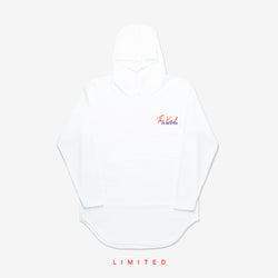 """The Kind"" Scallop Hoodie - White Limited"