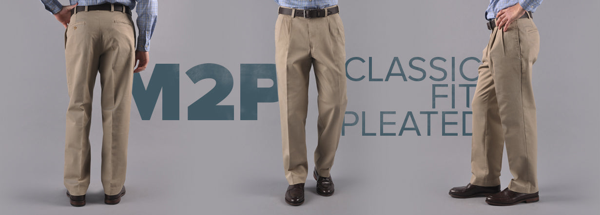 Bills Khakis Fit M2 Pleated