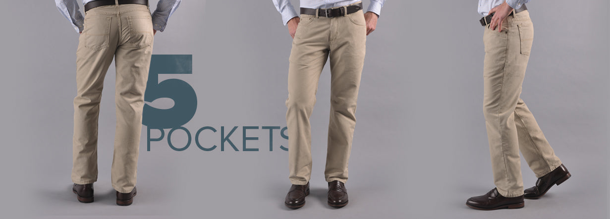 5 Pocket Classicc Fit