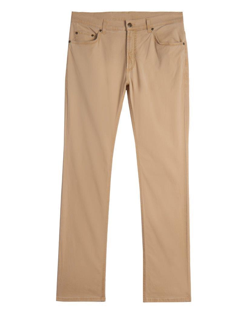 WAIST SIZES 28-32 - 5-pkt - Straight Fit - Island Twill - SAND