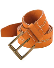 Load image into Gallery viewer, Baseball Glove Leather Belt