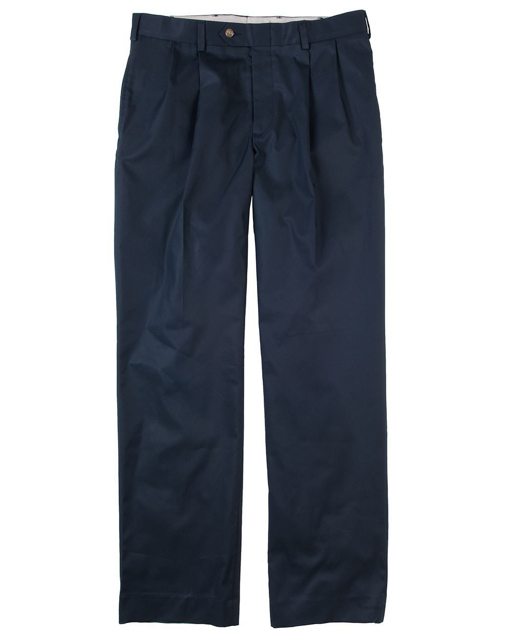 DM2P - Classic Fit Pleated - Travel Twill - Navy
