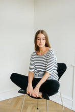 Load image into Gallery viewer, Striped Silk Cashmere Knit