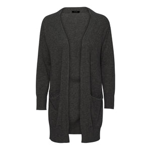 Copy of Long Dark Grey cashmere cardigan