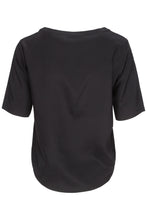 Load image into Gallery viewer, Black Silk Tee