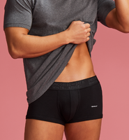 BOXER BRIEFS-LOW RISE GRAYSCALE