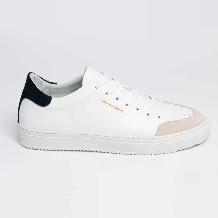 New Movements AS Model ÅPNE Sneakers White Black Color 011