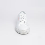 New Movements AS Model HUK Sneakers White Fleck 008