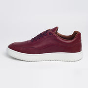 New Movements AS Model NM Sneakers Burgundy Color 004