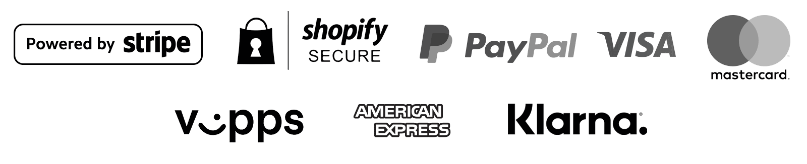 Safe Checkout with trusted Payment Partners