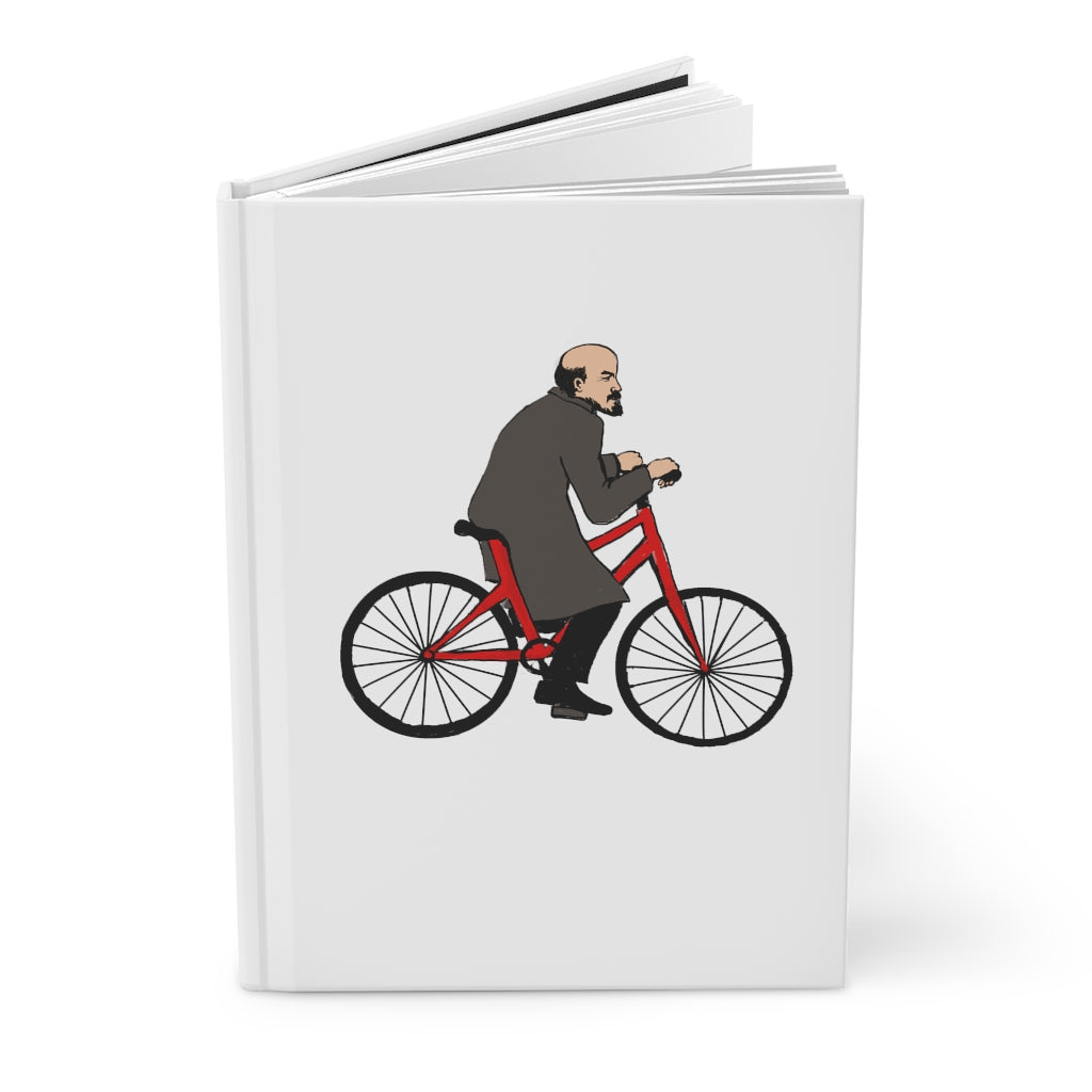 Lenin's Bicycle Hardcover Journal