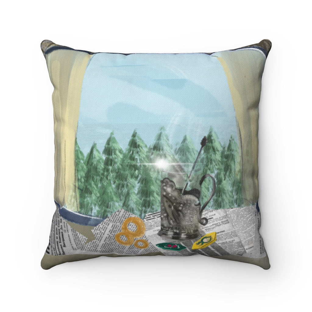 THE TRANS-SIBERIAN Pillow 18 x 18