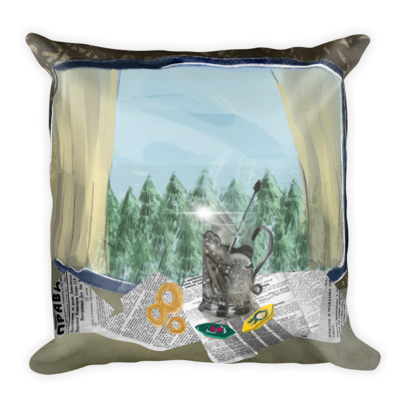 THE TRANS-SIBERIAN Pillow