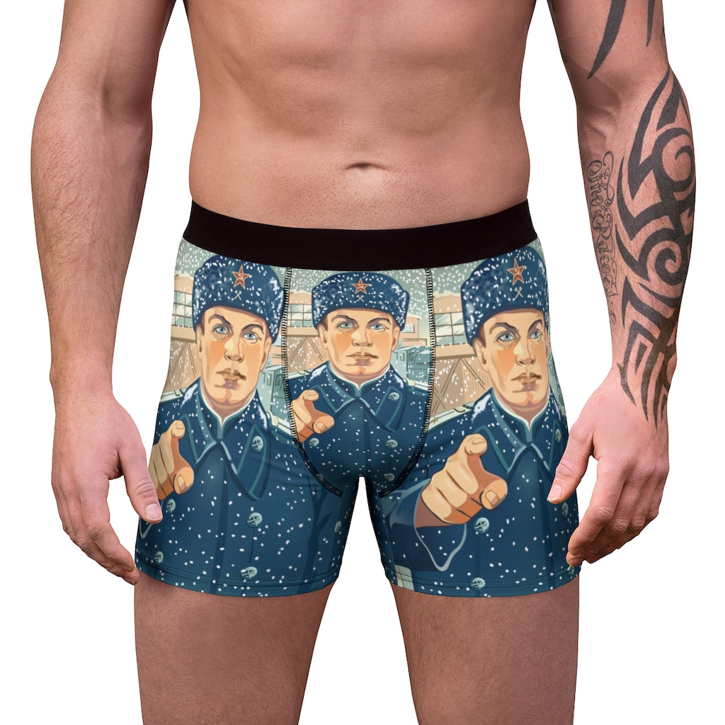 Are You Ready? Men's Boxer Briefs