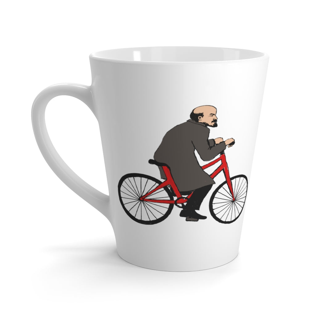 LENIN'S BICYCLE Latte Mug