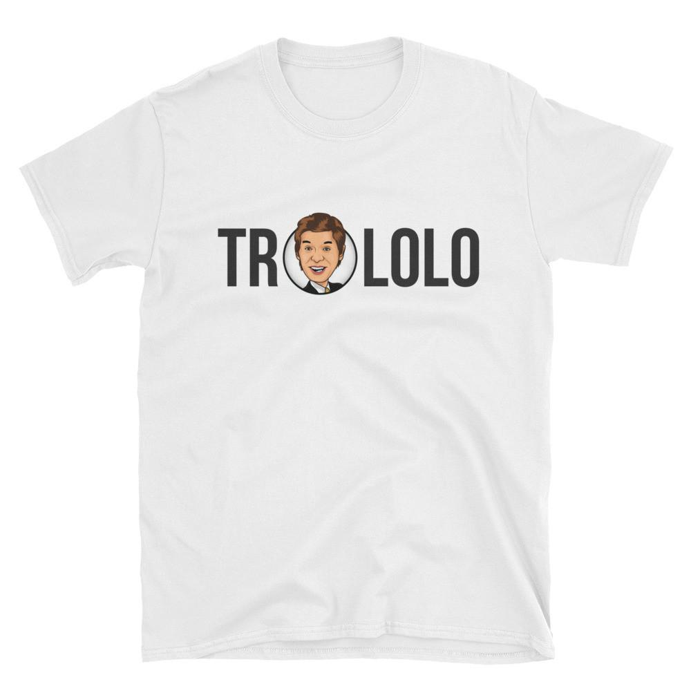 Trololo Shirt (White) - STRATONAUT Shop