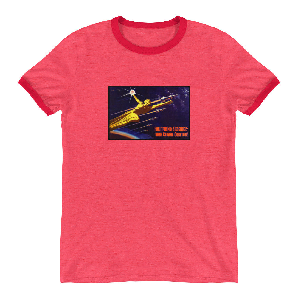 SPACE TRIUMPH Ringer T-Shirt