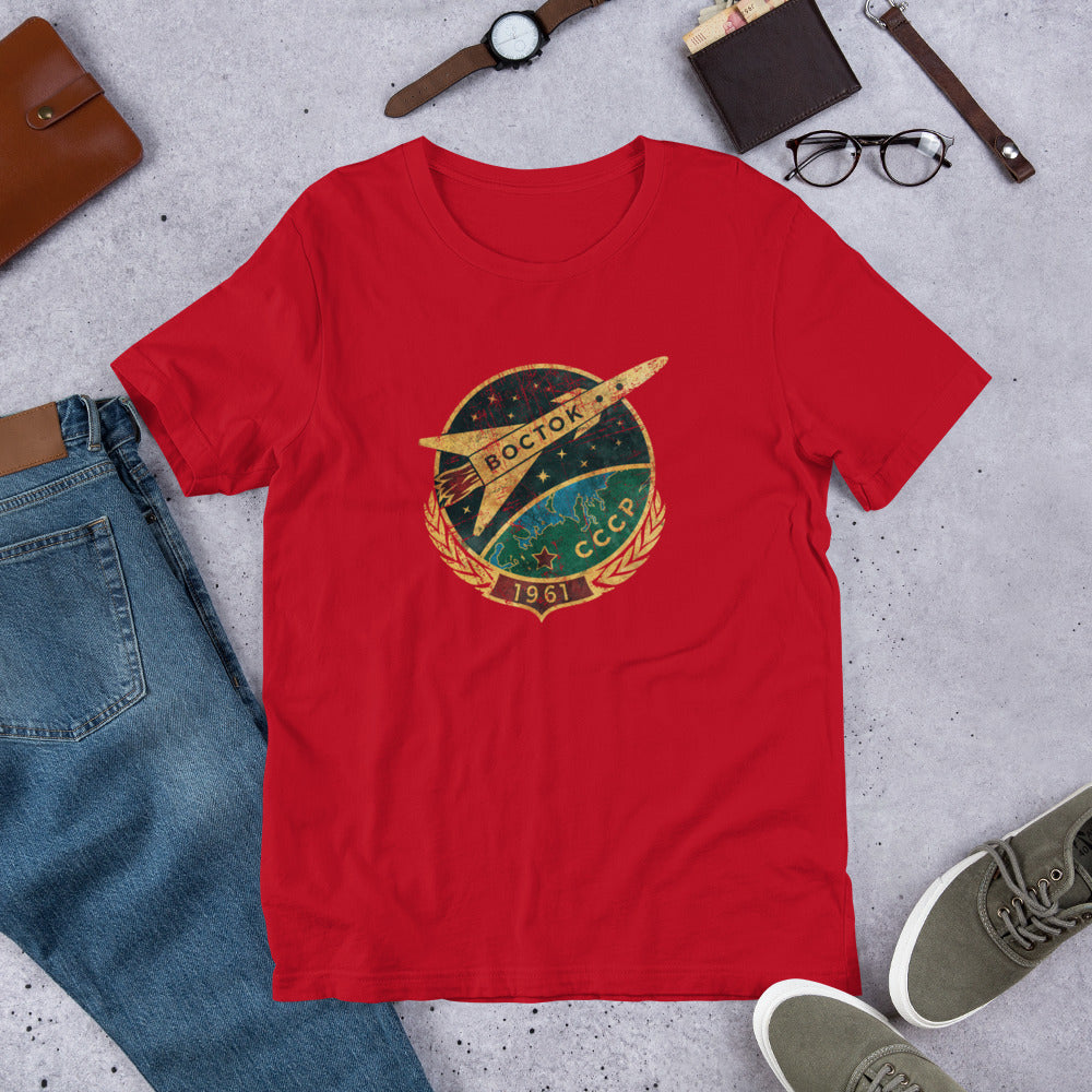 Vostok Spaceship 1961 T-Shirt