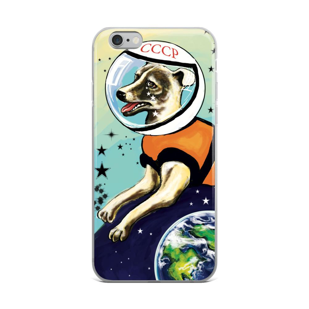 Laika iPhone Case - STRATONAUT Shop