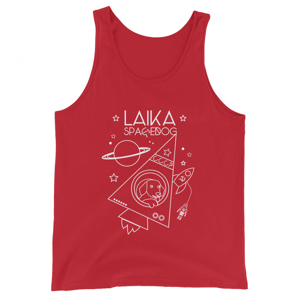 Laika Space Dog Unisex Tank Top