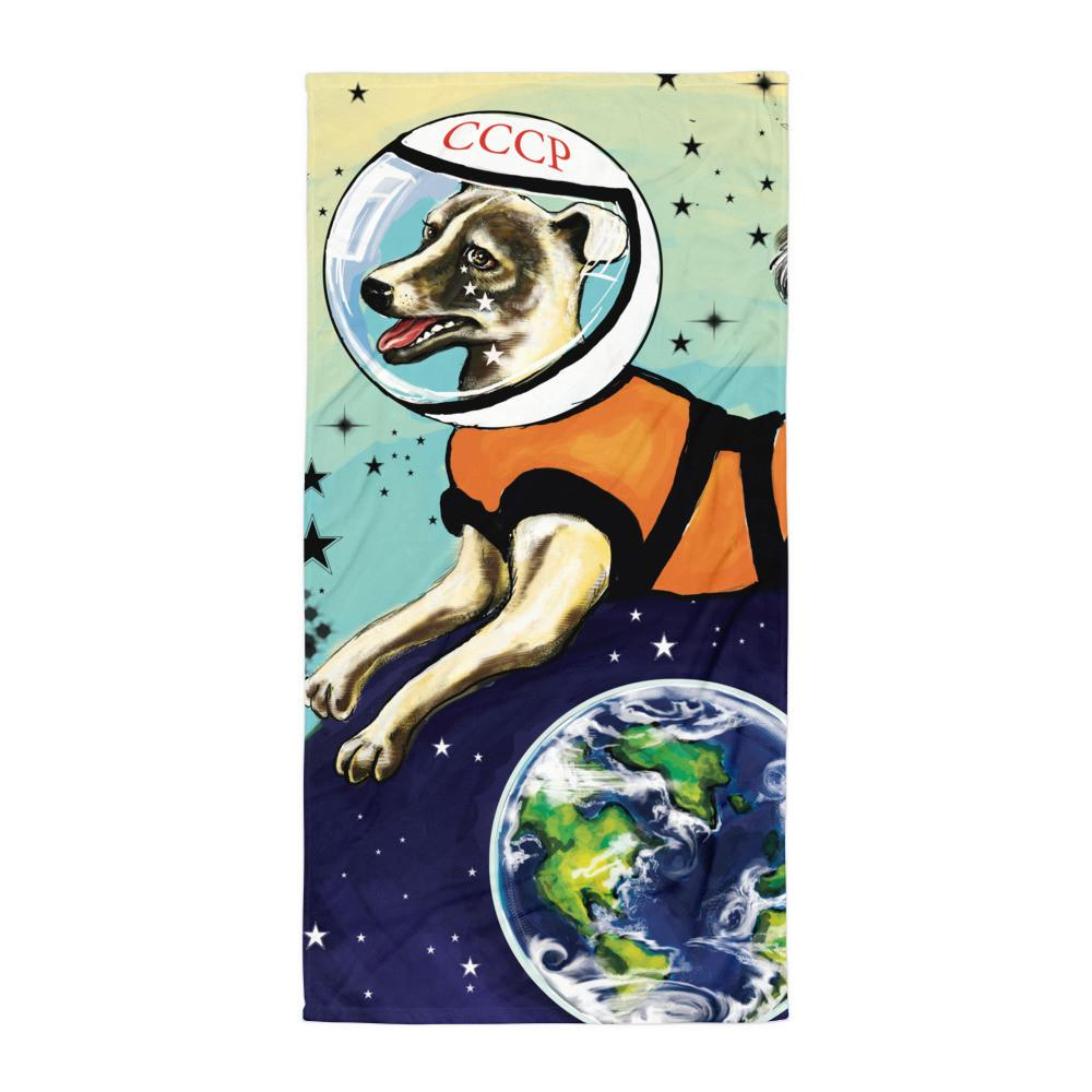 Laika Throw Blanket - STRATONAUT Shop