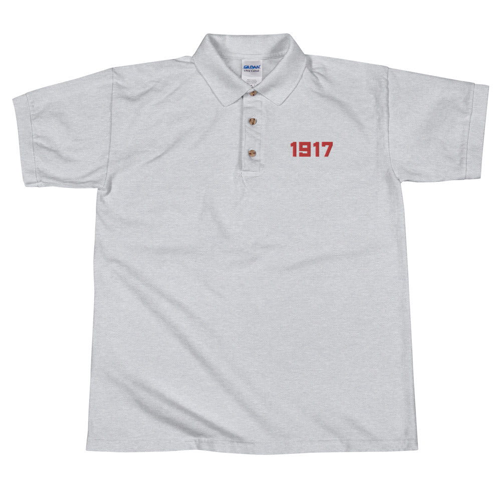 1917 Embroidered Polo Shirt