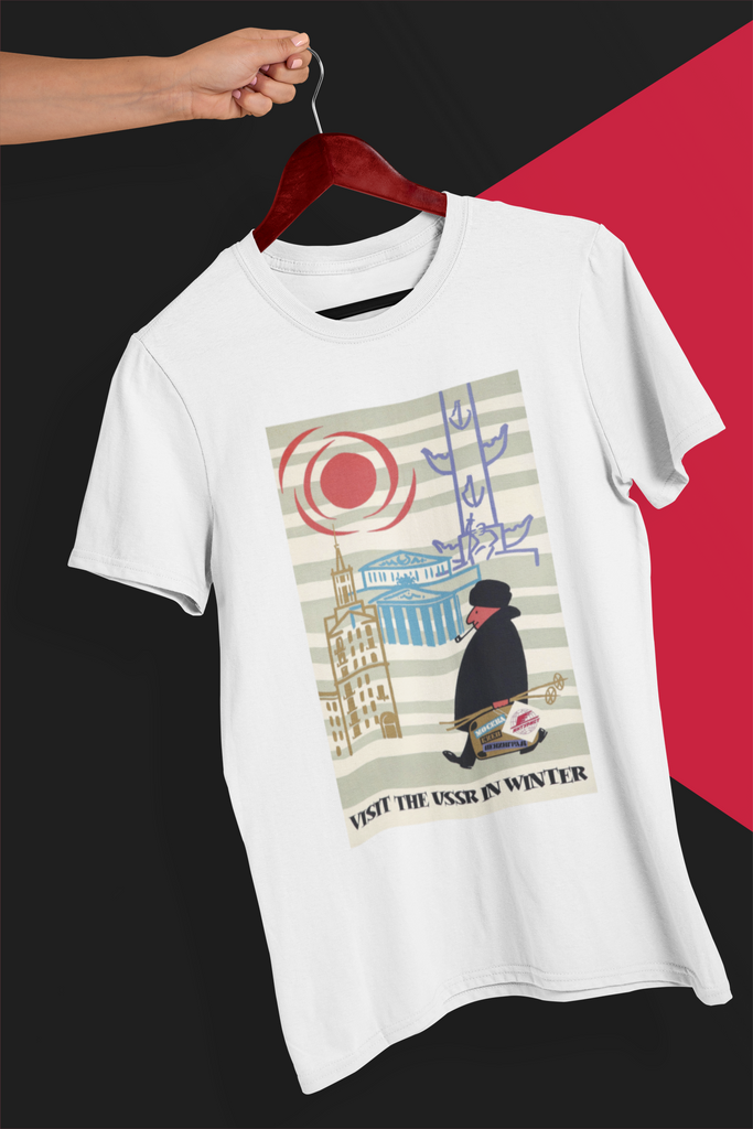 Visit USSR in Winter T-Shirt