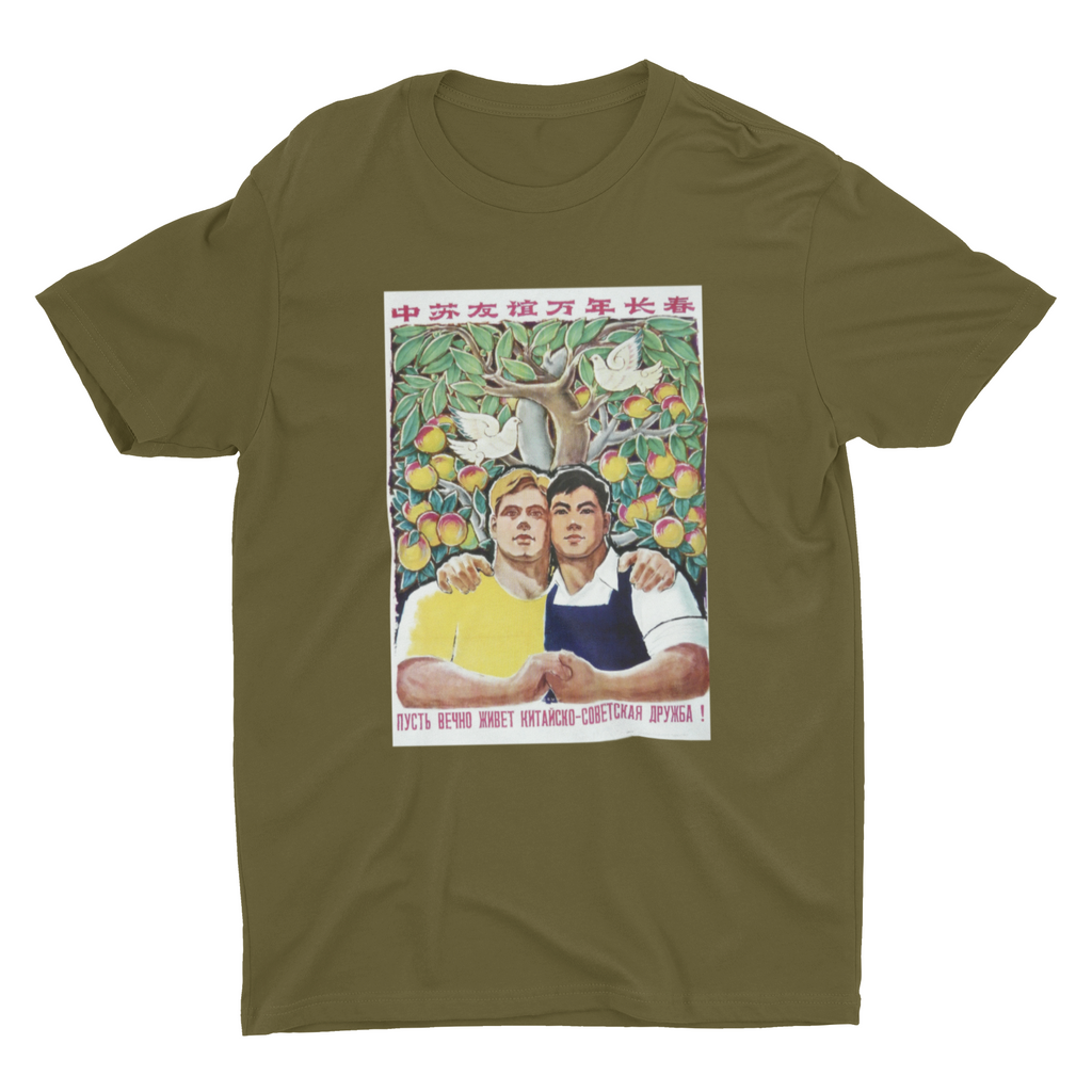 Forever Friends (Sino-Soviet Friendship) T-Shirt