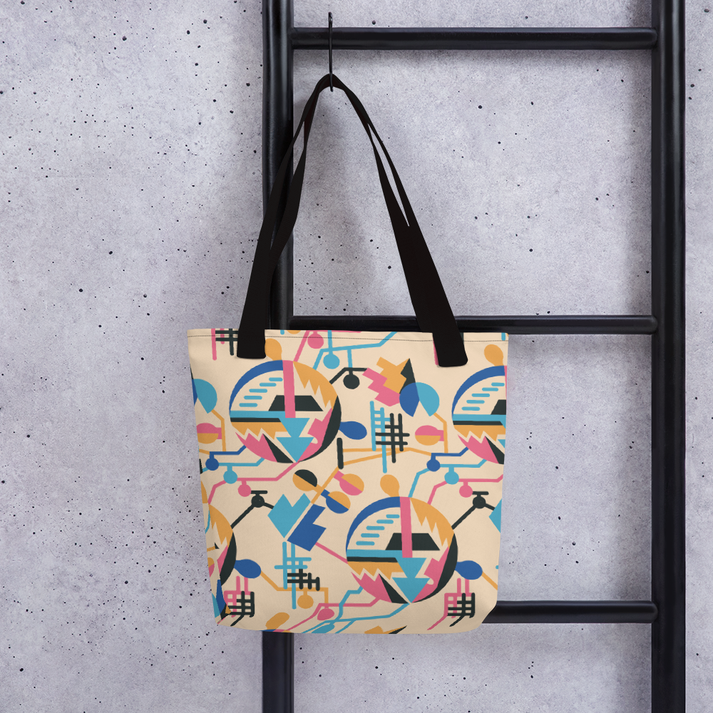 ELECTRIFICATION Tote bag - STRATONAUT Shop