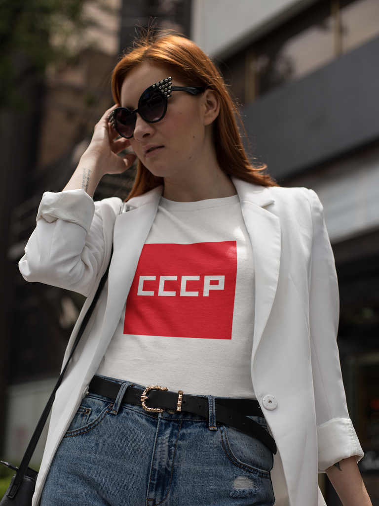 RED SQUARE T-Shirt - STRATONAUT Shop
