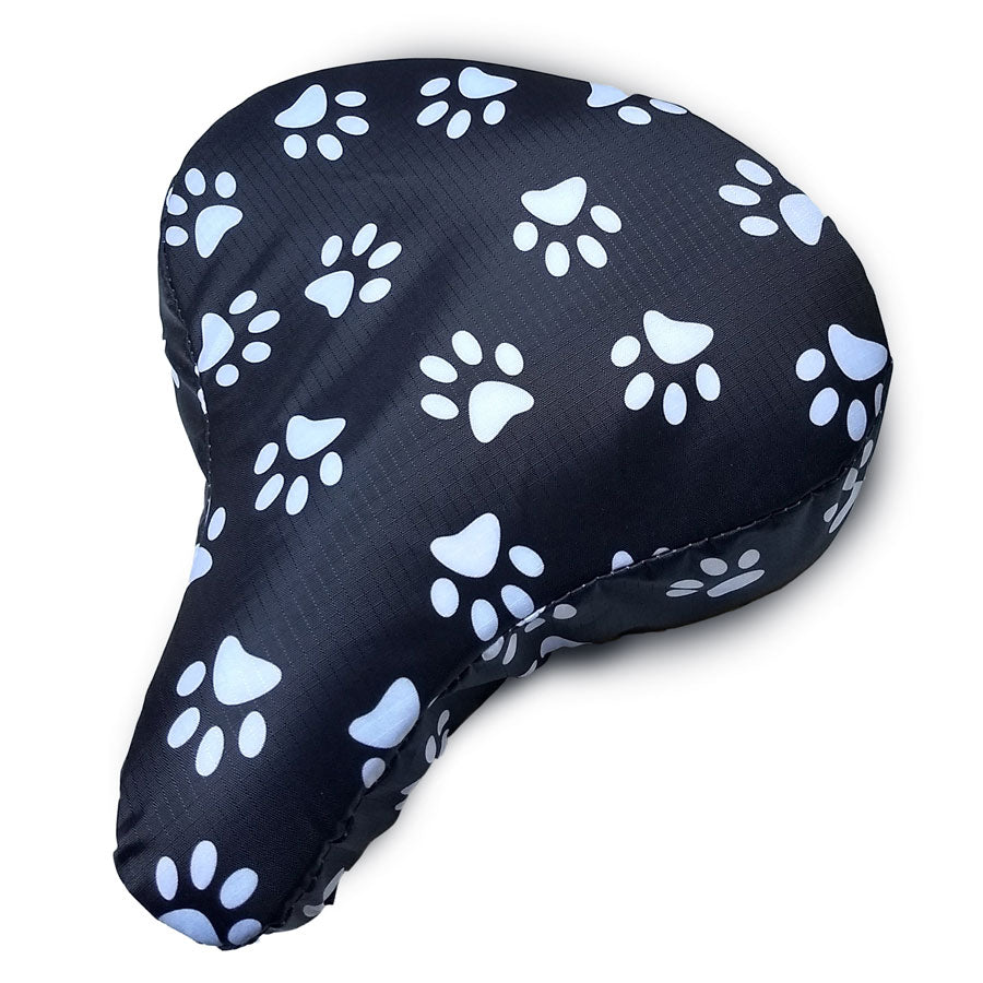 Dog Paws Cushy Bike Seat Cover