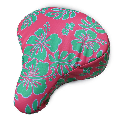 Coral Ray Cushy Bike Seat Cover