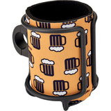 Wired Can Holder w/ Koozie Black
